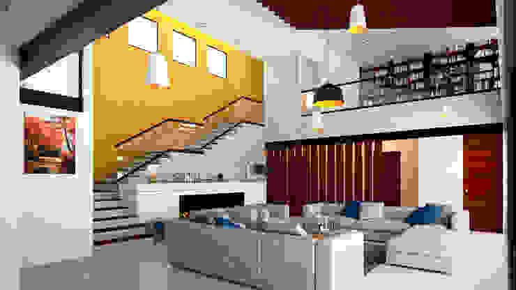 CASA VALLE Salones mediterráneos de Laboratorio Mexicano de Arquitectura Mediterráneo