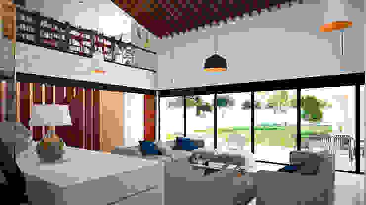 Sala Salones mediterráneos de Laboratorio Mexicano de Arquitectura Mediterráneo