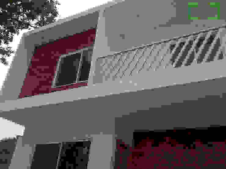 Casa <q>ZR</q> Casas modernas de [GM+] Arquitectos Moderno