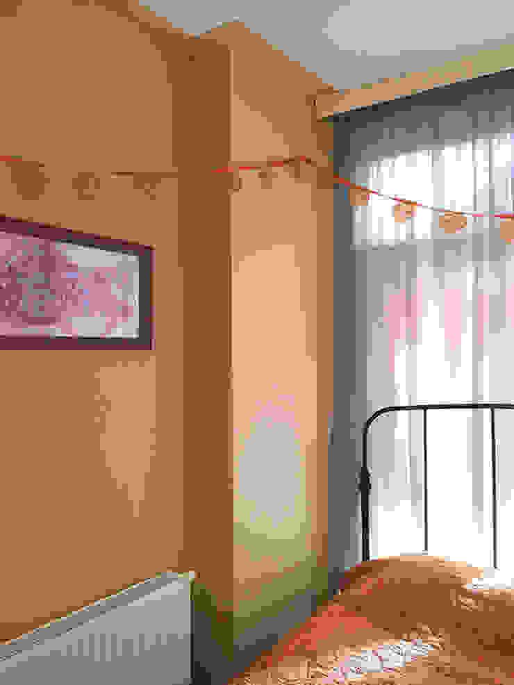 Farbkonzept Adeline Labord Interiors Schlafzimmer im Landhausstil Orange