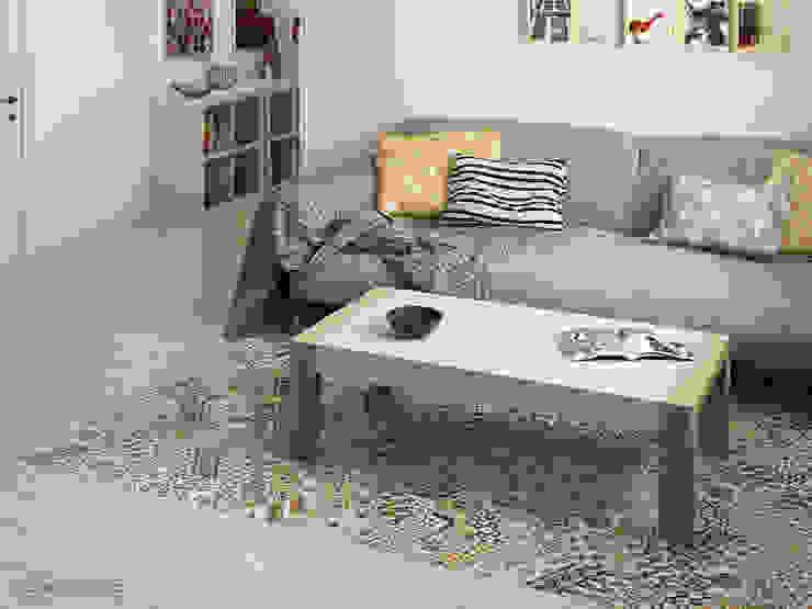 Salas / recibidores de estilo  por Equipe Ceramicas, Rústico