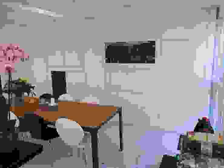 nieuwe kast in eetkeuken Moderne eetkamers van Studio Kuin BNI Modern