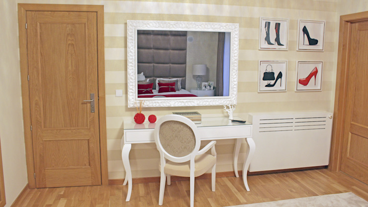 LOVE Quartos modernos por GRAÇA Decoração de Interiores Moderno