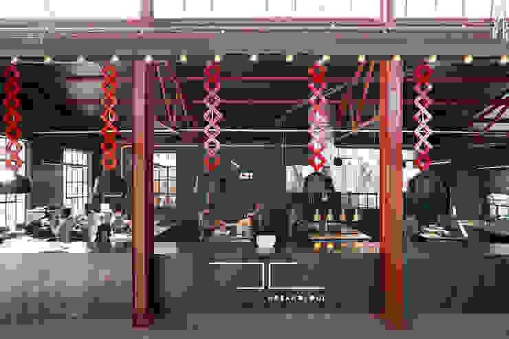 Mad Giant brewery and restaurant by Haldane Martin Iconic Design Industrial Aluminium/Zinc