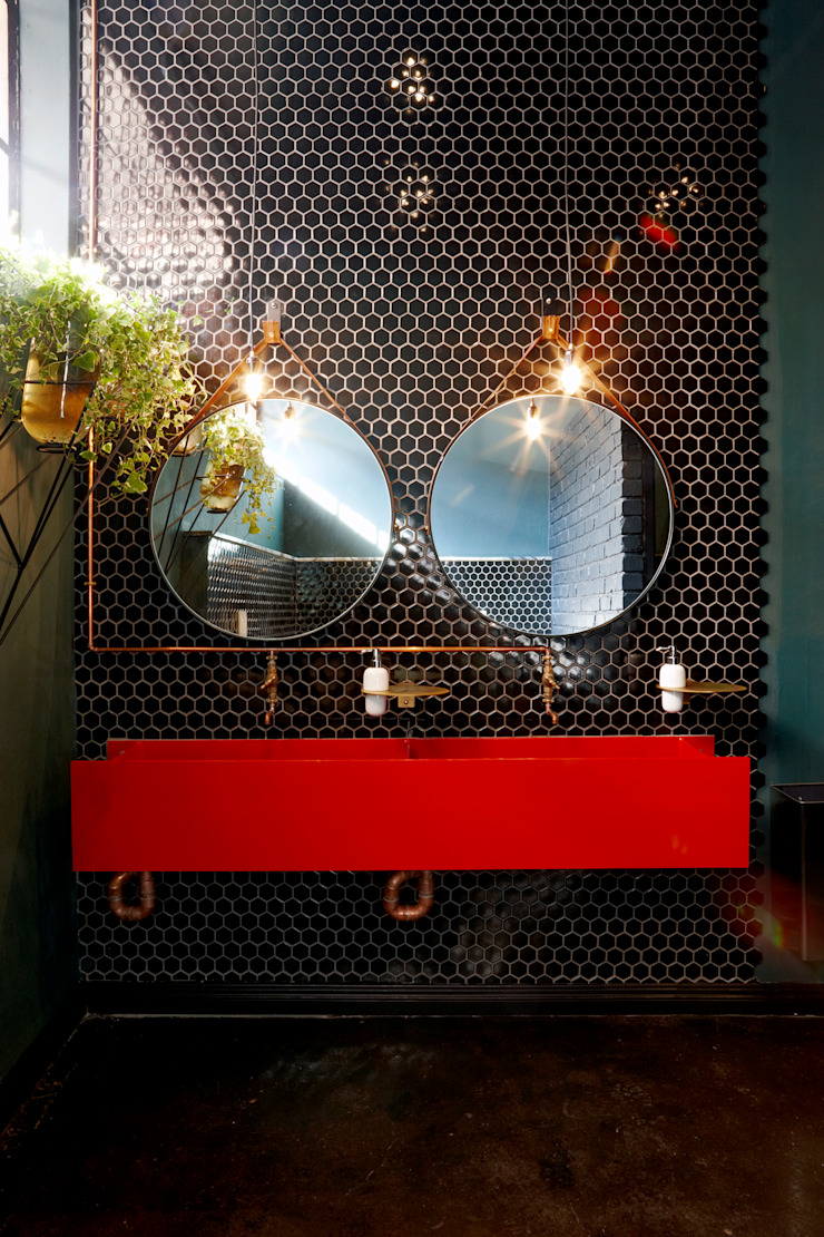 Mad Giant brewery and restaurant by Haldane Martin Iconic Design Industrial Iron/Steel