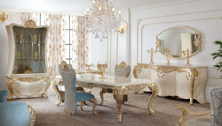 Dining room by homify, Classic MDF