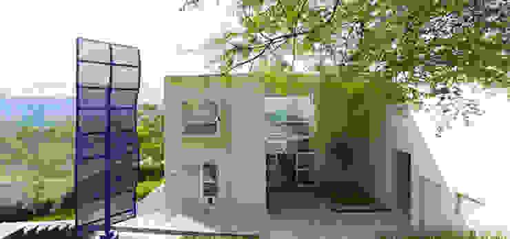 FACHADA PRINCIPAL Casas minimalistas de Excelencia en Diseño Minimalista Concreto