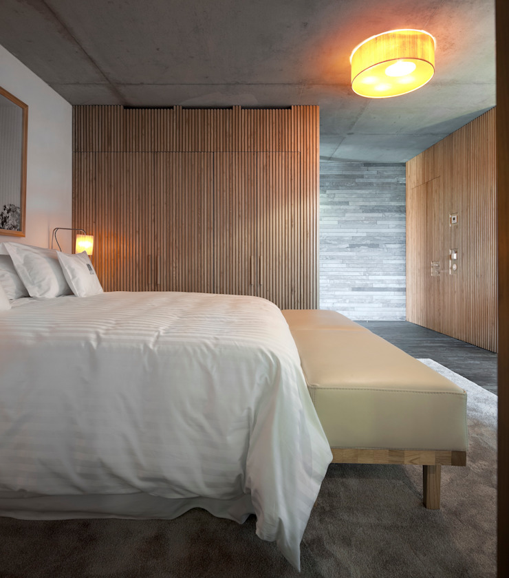 Dormitorios modernos: Ideas, imágenes y decoración de Menos é Mais - Arquitectos Associados Moderno