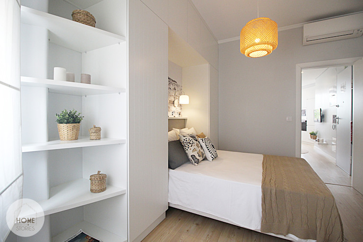 Bedroom by homify, Scandinavian