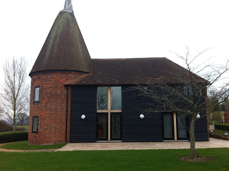 Tudeley Oast House Modern home by Elemental Architecture Modern