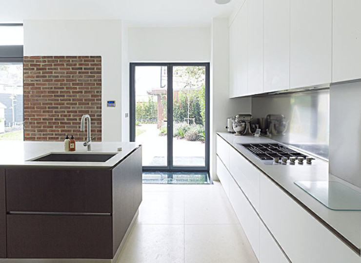 Gallery House on Richmond Park Cocinas modernas: Ideas, imágenes y decoración de Elemental Architecture Moderno