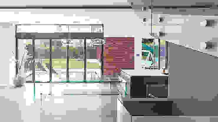 Gallery House on Richmond Park Modern style kitchen by Elemental Architecture Modern