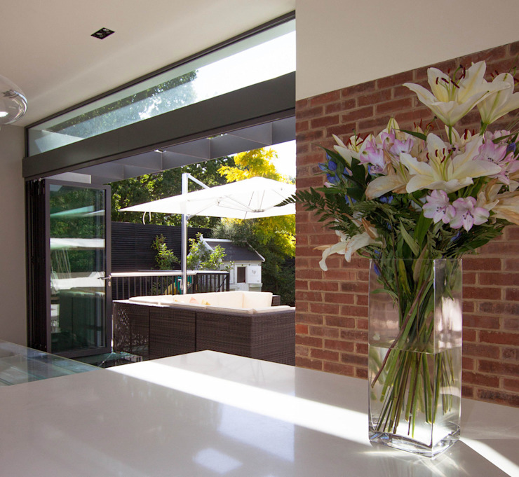 Gallery House on Richmond Park Modern dining room by Elemental Architecture Modern