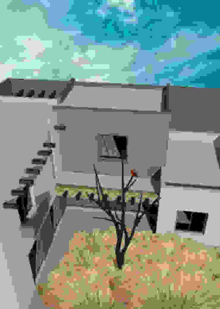 Vivienda en Bº SUPE, Godoy Cruz Casas minimalistas de CALVENTE - TIÓN Arquitectas Minimalista