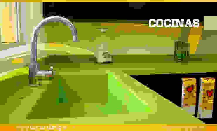 COCINAS (Cubiertas) de Domum Minimalista Concreto