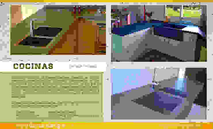 COCINAS (Cubiertas) de Domum Moderno Concreto