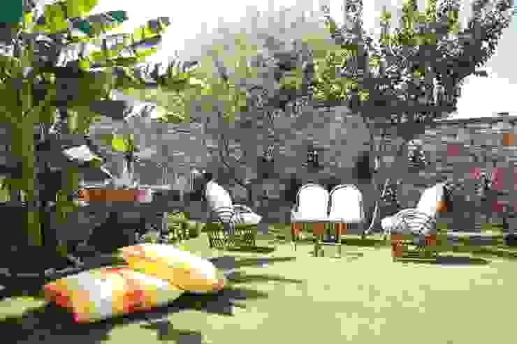 Jardins mediterrânicos por homify Mediterrânico Bambu Verde