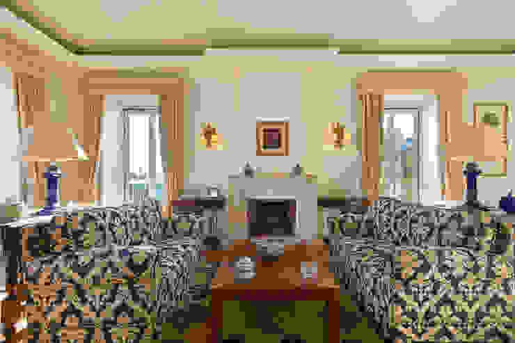 Salas de estilo clásico de Pedro Brás - Fotógrafo de Interiores e Arquitectura | Hotelaria | Alojamento Local | Imobiliárias Clásico