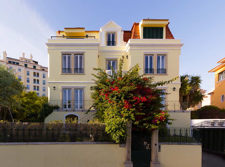 كوخ تنفيذ Pedro Brás - Fotógrafo de Interiores e Arquitectura | Hotelaria | Alojamento Local | Imobiliárias , كلاسيكي