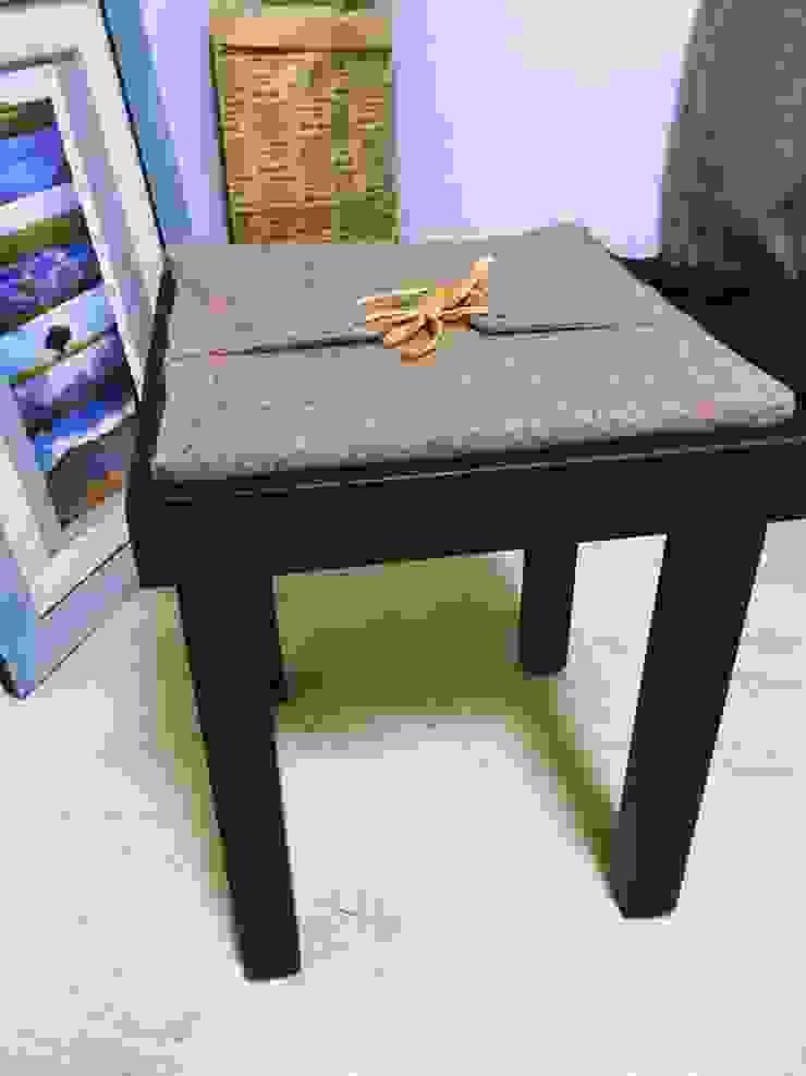 헌 의자와 안 입는 옷을 리폼하니 멋진 의자가 탄생했다. by GOOD FRIEND