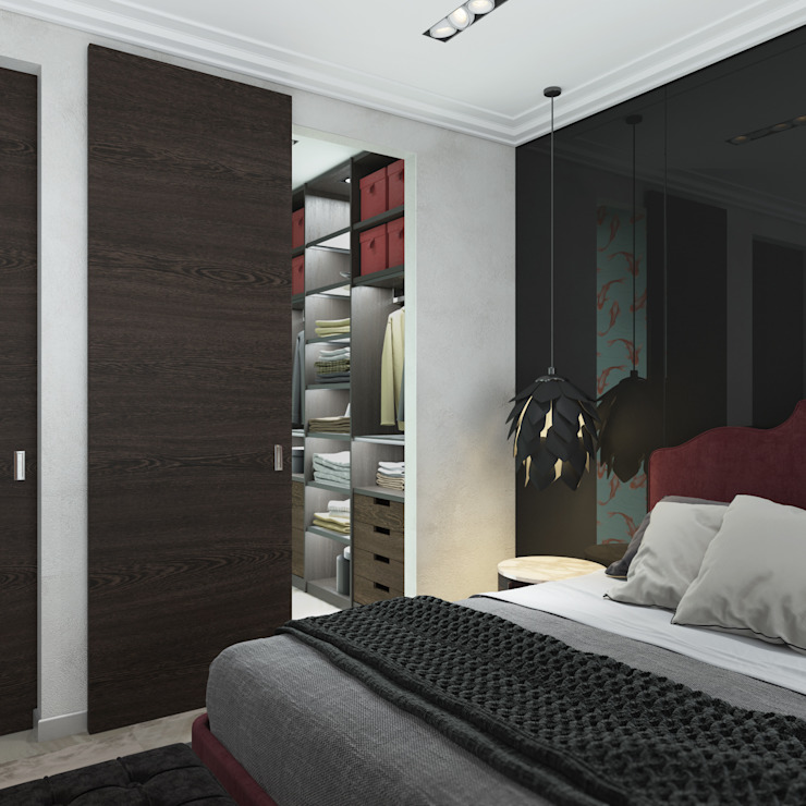Industrial style bedroom by 3D GROUP Industrial