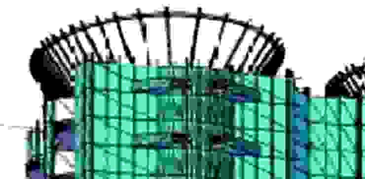 Nowoczesny balkon, taras i weranda od Diseño Aplicado Avanzado de Guadalajara Nowoczesny