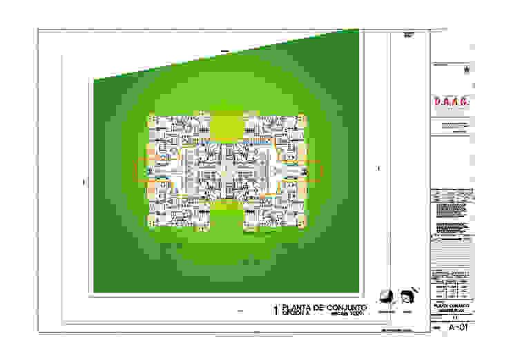 Nowoczesna sypialnia od Diseño Aplicado Avanzado de Guadalajara Nowoczesny