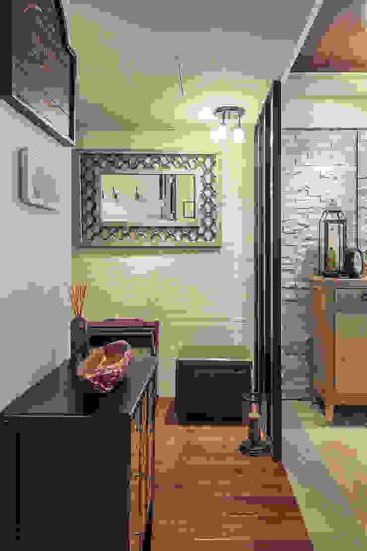 大晴設計 - 微莊園 乡村风格的走廊,走廊和楼梯 根據 大晴設計有限公司 鄉村風