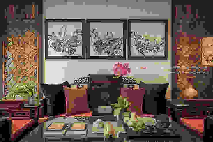 新東方-客廳,東方 根據 大不列顛空間感室內裝修設計 日式風、東方風
