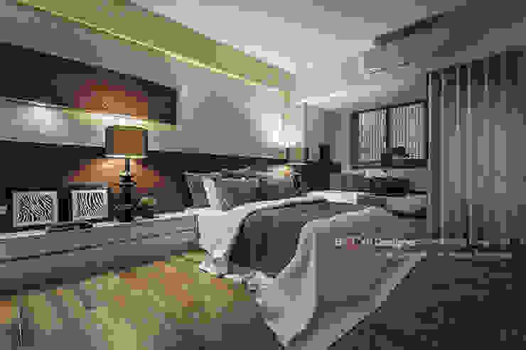 新東方-臥室 根據 大不列顛空間感室內裝修設計 日式風、東方風
