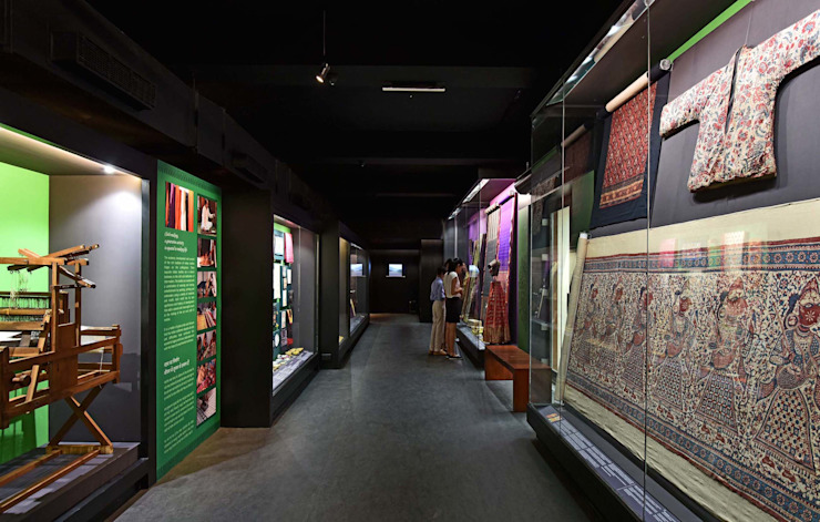 CSMVS MUSEUM, MUMBAI Asian style walls & floors by Somaya and Kalappa Consultants Asian