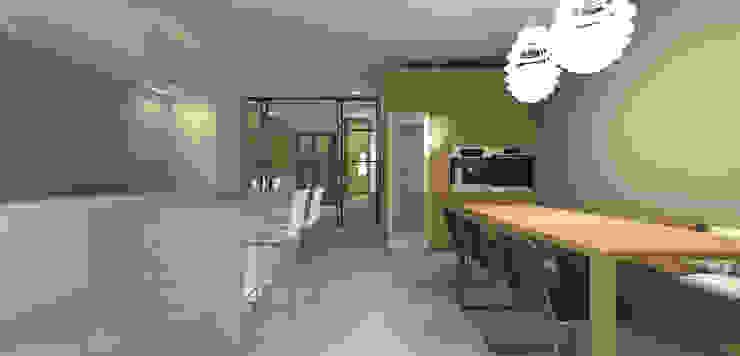 Keuken met kookeiland Moderne keukens van Studio DEEVIS Modern