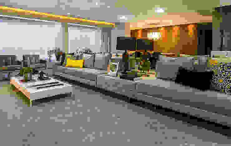Ruang Keluarga Klasik Oleh Cris Nunes Arquiteta Klasik