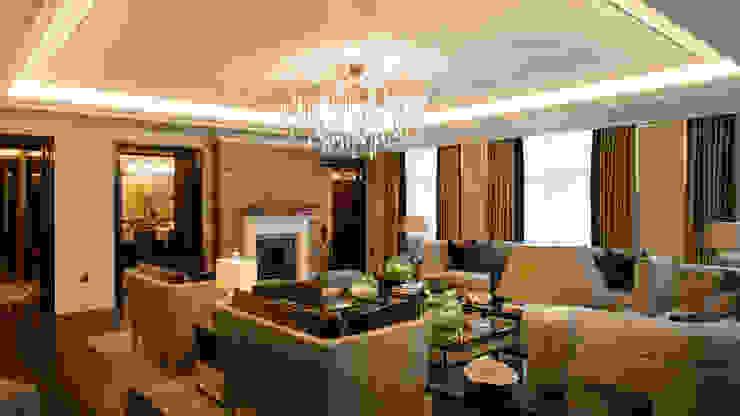 Whitehall Apartment by Goddard Littlefair (UK) / Serip Lighting por Serip Clássico