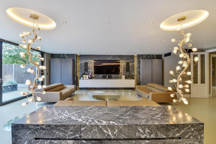 Such Designs Private Residence (UK) / Serip Lighting od Serip Nowoczesny