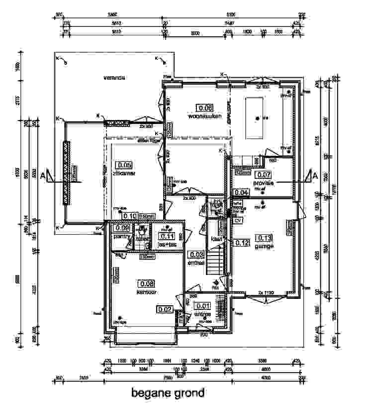 Plattegrond Modern Houses by Villa Delphia Modern