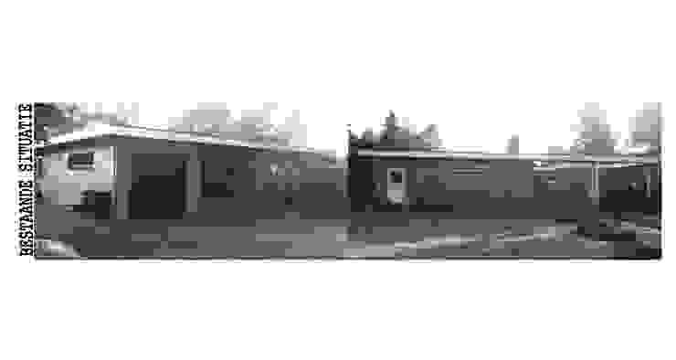 Bestaande situatie Modern Houses by Villa Delphia Modern