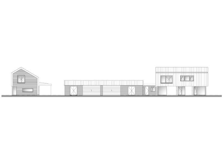 Plattegrond Industrial style houses by Villa Delphia Industrial
