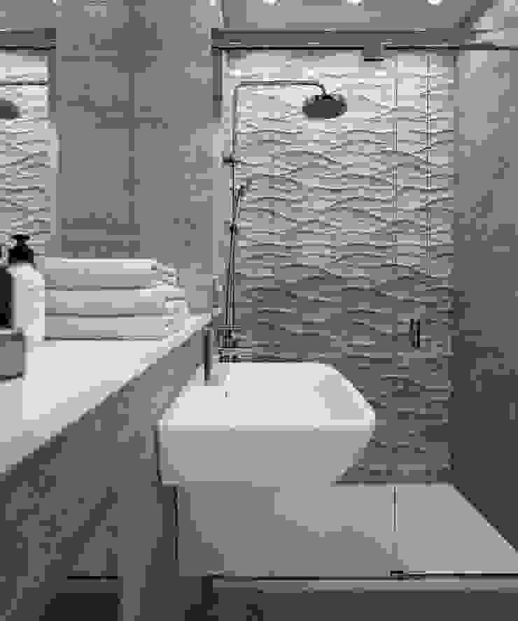 Bathroom CGI Visualisations #4 Modern Bathroom by White Crow Studios Ltd Modern Ceramic