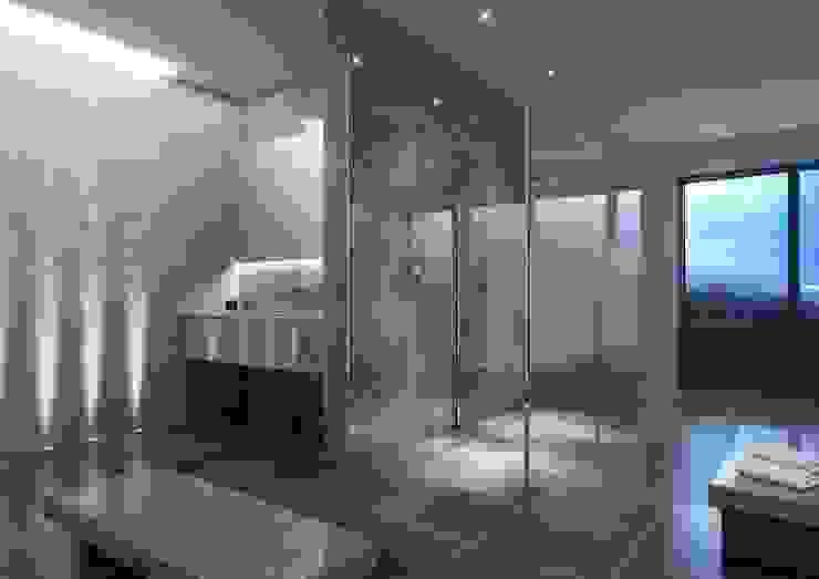 Bathroom CGI Visualisation #11 Classic style bathroom by White Crow Studios Ltd Classic Marble