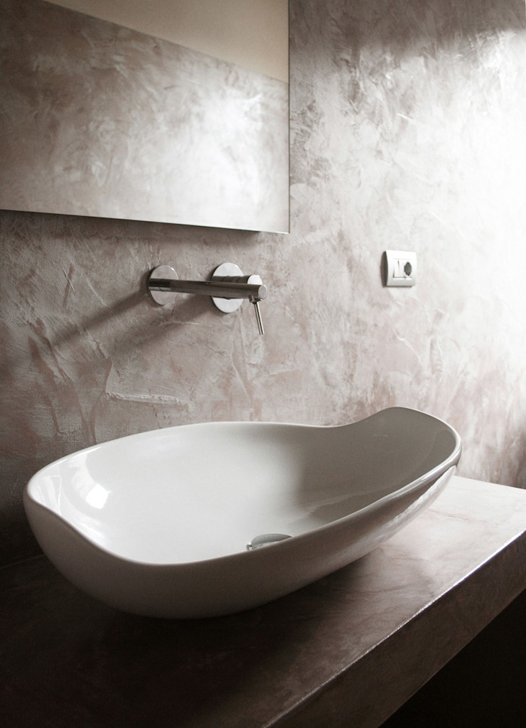 Modern bathroom by Architetto Luigi Pizzuti Modern Concrete