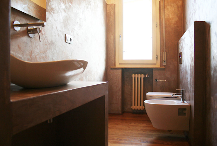 Bathroom by Architetto Luigi Pizzuti, Modern Concrete
