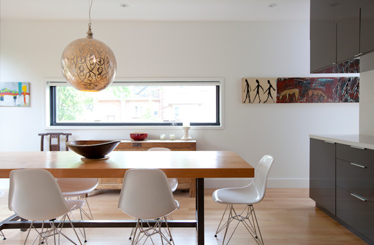 RIVERDALE BOWDEN HOUSE Scandinavian style dining room by Post Architecture Scandinavian