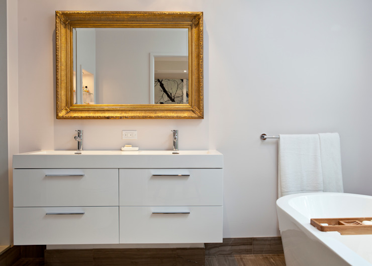Scandinavian style bathroom by Post Architecture Scandinavian