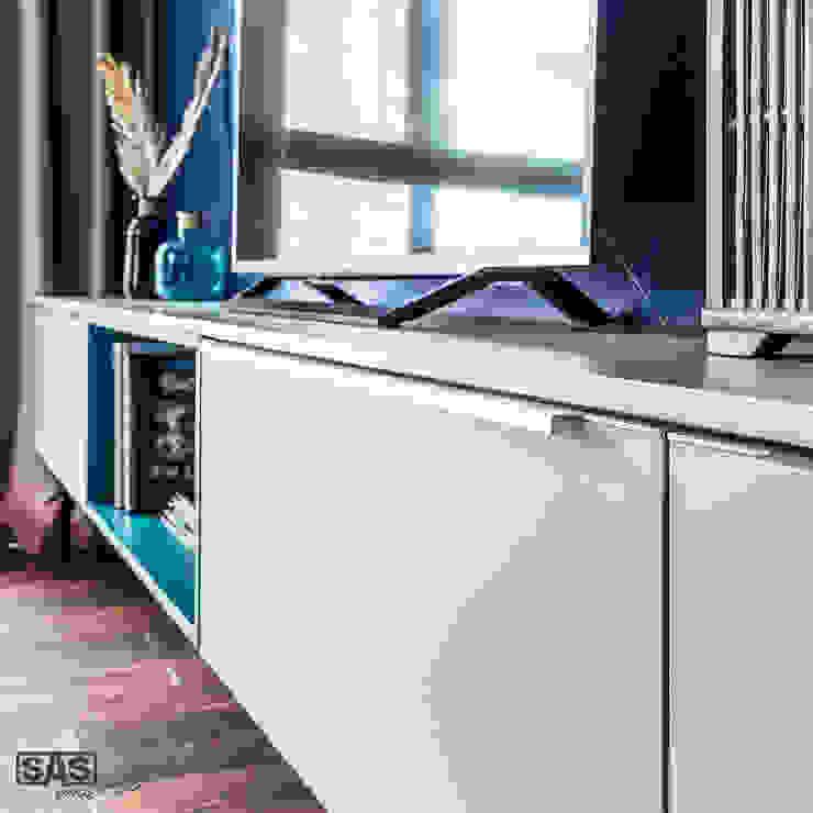Salon moderne par SAS Moderne