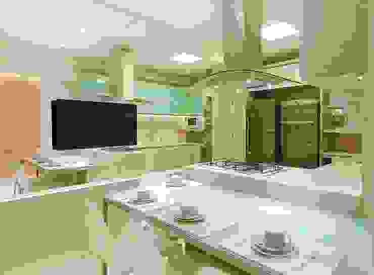 COPA/COZINHA Cozinhas modernas por Matheus Menezes Arquiteto Moderno