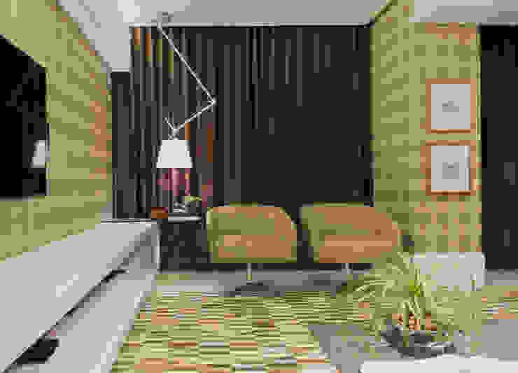 HOME THEATER Salas multimídia modernas por Matheus Menezes Arquiteto Moderno