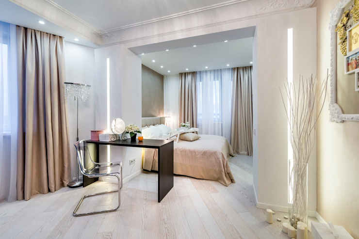 Имперский Минимализм Спальня в стиле минимализм от Школа Ремонта Минимализм