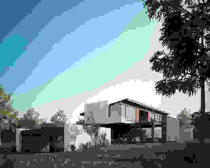 Fachada Casas modernas de BAG arquitectura Moderno Piedra