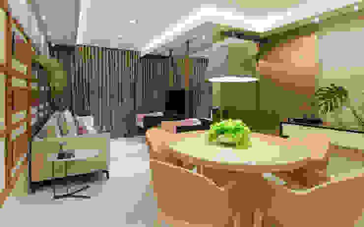 SALA E JANTAR Salas de jantar modernas por Matheus Menezes Arquiteto Moderno